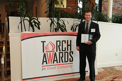 ATech Designs Receives Torch Award